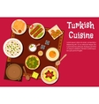 Turkish cuisine food and desserts