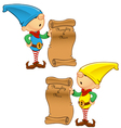 Elf Mascot Naughty And Nice List