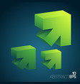 abstract clean concept vector image vector image