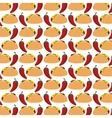burrito mexican food icon vector image