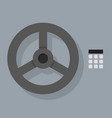 closeup bank vault safe door vector image vector image