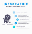 death frag game kill sword infographics template vector image vector image