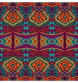 ethnic tribal ornamental pattern colorful vector image vector image