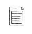 figure business information document paper data vector image vector image