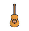 guitar icon image vector image vector image