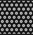 hexagon black and white seamless pattern abstract vector image vector image