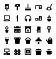 Home Appliances Icons 5 vector image vector image