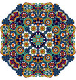 mandala style floral decorative element vector image vector image