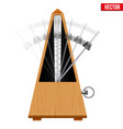 metronome vector image vector image