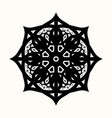 sacred geometry 0158 vector image vector image