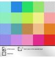 set twenty colorful seamless textures vector image