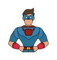 superhero avatar icon image vector image vector image