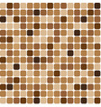 background mosaic brown vector image vector image