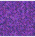 colored diagonal square pattern background vector image vector image