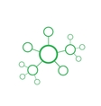 green network abstract vector image