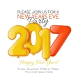 Merry Christmas and Happy New Year 2017 party