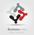 Originally created business icon vector image vector image