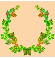 The leaves and branches vector image vector image