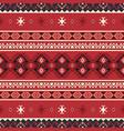 tribal ethnic seamless pattern geometric design vector image vector image