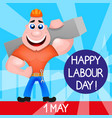 usa labor day vector image vector image