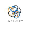 concept icon infinity vector image vector image