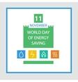 Energy efficiency saving resources vector image