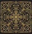 geometric ornamental pattern vector image vector image