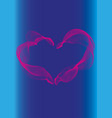 heart icon love and romance symbol vector image