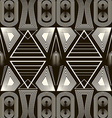 Seamless antique pattern ornament Geometric vector image vector image