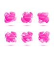 set of gradient banners vector image vector image