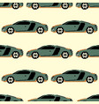 sports car color seamless pattern vector image