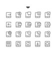 tablet ui pixel perfect well-crafted thin vector image