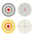 Targets set vector image vector image