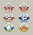Sport Logo Emblem Badge Banner vector image
