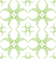 abstract background of beautiful seamless floral p vector image