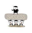 Whose Success vector image