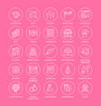 25-icons-template vector image