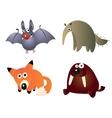Cartoon little Animals vector image vector image