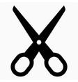 cut icon vector image vector image
