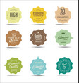 modern sale stickers collection vector image vector image