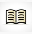 open book design clipart vector image vector image