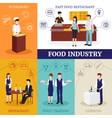 Restaurant People Design Concept vector image vector image