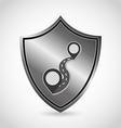 security icon vector image vector image