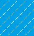 tweezers pattern seamless blue vector image vector image