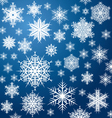 White snowflakes vector | Price: 1 Credit (USD $1)