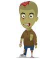 zombie left vector image vector image