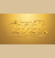 2020 happy new year lettering banner design
