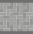 3d brick stone pavement pattern texture vector image vector image