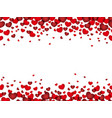 a seamless valentines day background vector image vector image