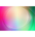 abstract curved with colorful background vector image vector image